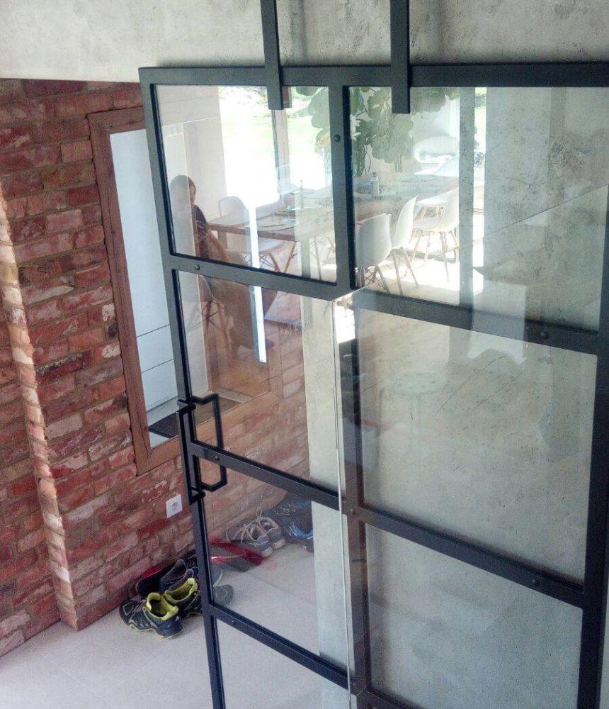drzwi loft Gdynia drzwi z metalu i szkła